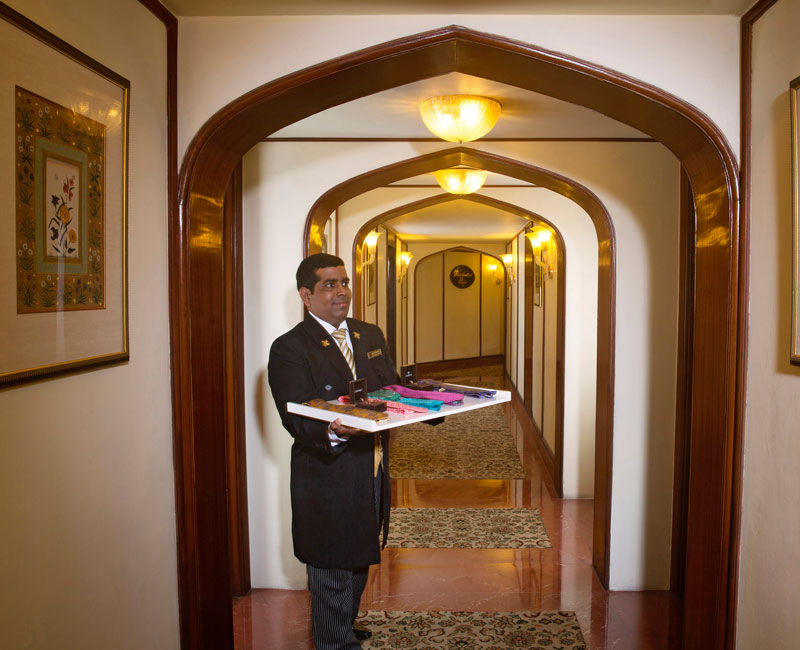 Trained Butler in Presidential Suite
