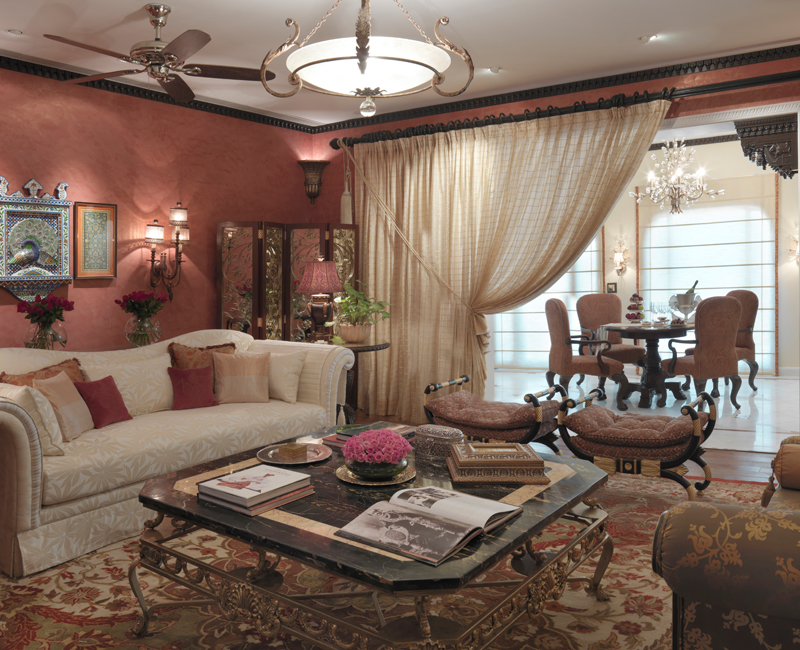 Sukh Niwas Suite Living Area
